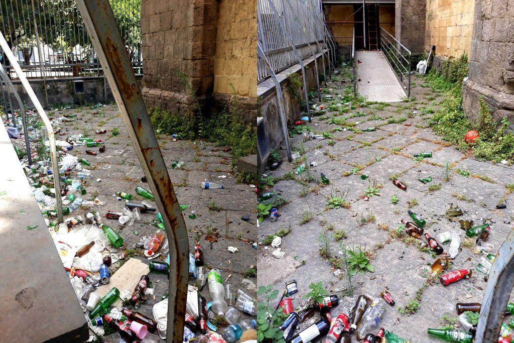 """Napoli, Cappella """"Pappacoda"""" tra degrado e rifiuti. Europa Verde: """"Pronti a  pulirla noi"""" – Vivi Campania"""